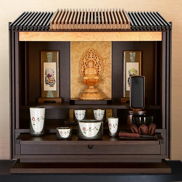 モダンミニ仏壇 月の雫 16号